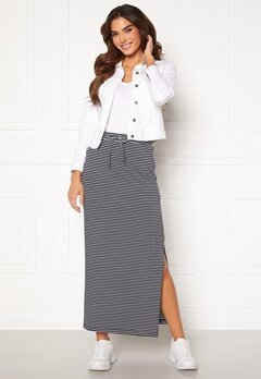 OBJECT Stephanie Maxi Skirt White Stripes Sky Ca<br>  Bubbleroom.fi