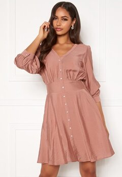 OBJECT Tilli 3/4 Dress Misty Rose Bubbleroom.fi