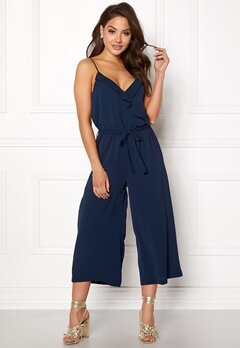 OBJECT Tribbiani S/L Jumpsuit Mood Indigo Bubbleroom.fi