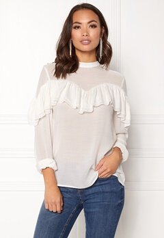 OBJECT Troja L/S Top Gardenia Bubbleroom.fi