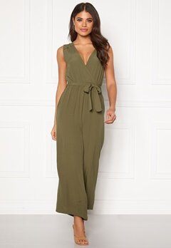 OBJECT Zoeella Bay Jumpsuit Burnt Olive Bubbleroom.fi