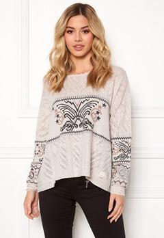 Odd Molly Arctic Wings Sweater Powder Bubbleroom.fi