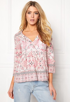 Odd Molly Backbone L/S Blouse Desert Rose Bubbleroom.fi