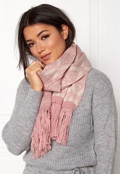 Odd Molly Fling Scarf Pink Powder Bubbleroom.fi