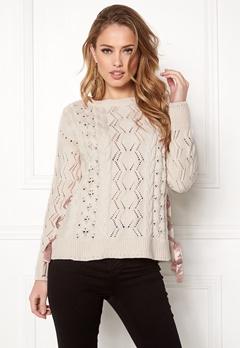 Odd Molly Flurry Sweater Chalk Bubbleroom.fi