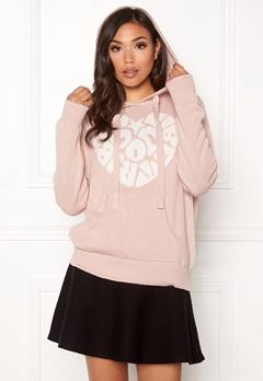 Odd Molly Hey Baby Hood Sweater Pink Sand Bubbleroom.fi