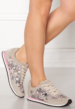 Odd Molly Lace Up Trainer Light Porcelain Bubbleroom.fi