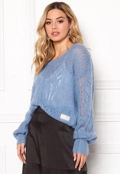 Odd Molly Mystery Fields Sweater Heritage Blue Bubbleroom.fi