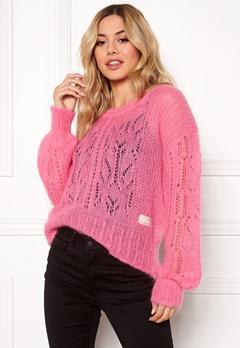 Odd Molly Mystery Fields Sweater Pink Lemonade Bubbleroom.fi