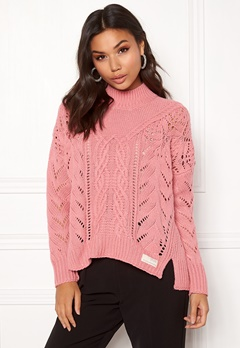 Odd Molly Pathways Sweater Dusty Pink Bubbleroom.fi