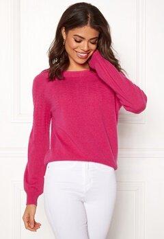 Odd Molly Soft Pursuit Sweater Hot Pink Bubbleroom.fi