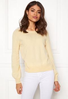 Odd Molly Soft Pursuit Sweater Light Yellow Bubbleroom.fi