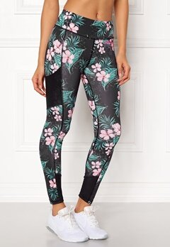Odd Molly Sprinter Leggings Black Multi Bubbleroom.fi