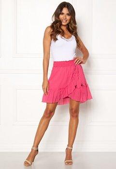 Odd Molly Superflow Skirt Blush Pink Bubbleroom.fi