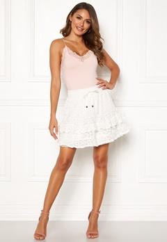 Odd Molly Swag Blossom Skirt Light Chalk Bubbleroom.fi