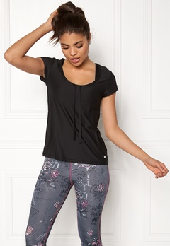 Odd Molly Sweat It Solid Top Almost Black Bubbleroom.fi