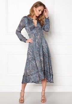 Odd Molly Triumph Long Dress Misty Blue Bubbleroom.fi