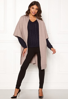 VILA Olivena Knit Cape Natural Melange Bubbleroom.fi