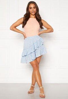 ONLY Addie Short Skirt Cashmere Blue Bubbleroom.fi