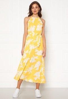 ONLY Alma Life S/L Long Dress Aspen Gold Bubbleroom.fi