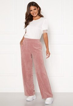 ONLY Alma-Nelle MW Wide Cord Pant Burlwood Bubbleroom.fi
