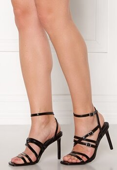 ONLY Alyx PU Heeled Sandal Black Bubbleroom.fi