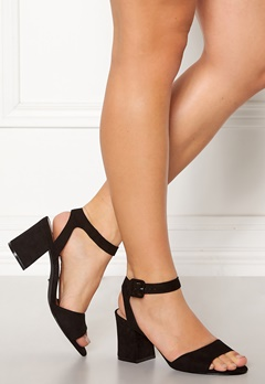 ONLY Amanda Heeled Sandal Black Bubbleroom.fi