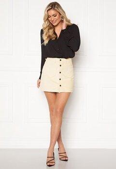ONLY Amazing HW Corduroy Skirt Whitecap Gray Bubbleroom.fi