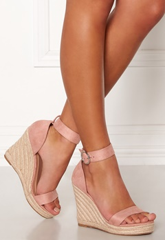 ONLY Amelia Heeled Cap Sandal Light Pink Bubbleroom.fi