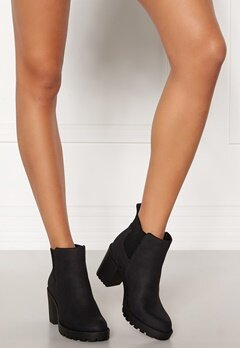 ONLY Barbara Heeled Bootie Black Bubbleroom.fi