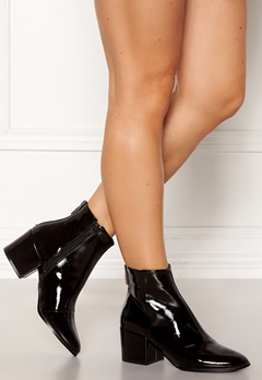 ONLY Belen Zip Patent Bootie Black Bubbleroom.fi