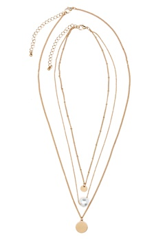ONLY Betinna Necklace Gold Colour Bubbleroom.fi