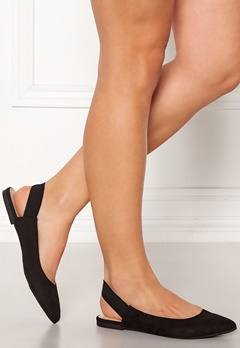 ONLY Blondie Heel Ballerina Black Bubbleroom.fi