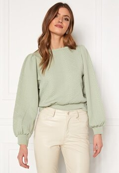 ONLY Cable L/S O-Neck Swt Desert Sage Bubbleroom.fi