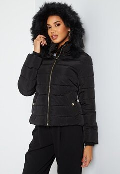ONLY Camilla Quilted Jacket Black bubbleroom.fi