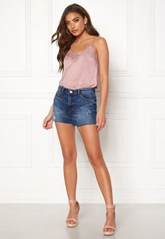 ONLY Cardi Denim Shorts Medium Blue Denim Bubbleroom.fi