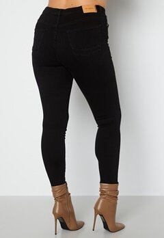 Only Carmakoma Jenny HW Skinny Jeans Black Denim bubbleroom.fi
