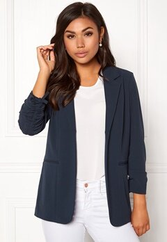 ONLY Carolina 4/5 Blazer Blue Nights Bubbleroom.fi