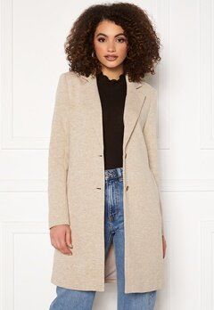 ONLY Carrie Mel Coat Etherea Melange Bubbleroom.fi