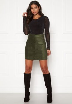 ONLY Cassie Skirt Forest Night Bubbleroom.fi