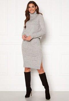 ONLY Cille Skirt Ex Knit Ligth Grey Melange Bubbleroom.fi