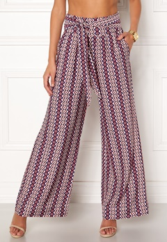 ONLY Daisy Palazzo Tie Pant Cloud Dancer Bubbleroom.fi