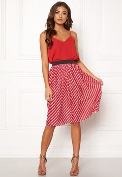ONLY Disco Skirt High Risk Red Bubbleroom.fi