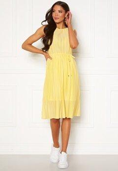 ONLY Elema S/L Dress Dusky Citron Bubbleroom.fi