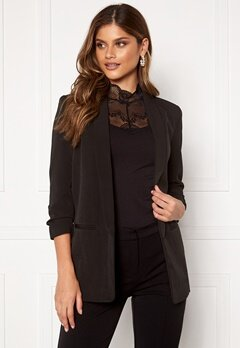ONLY Elly 3/4 Life Blazer Black Bubbleroom.fi