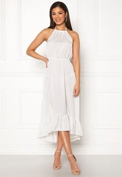 ONLY Esther SL Dress Cloud Dancer Bubbleroom.fi