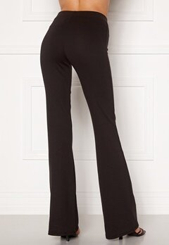 ONLY Fever Stretch Flaired Pants Black Bubbleroom.fi