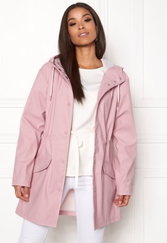 ONLY Fine Raincoat Pink Nectar Bubbleroom.fi
