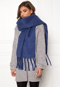 ONLY Floor Weaved Scarf Blueprint Bubbleroom.fi
