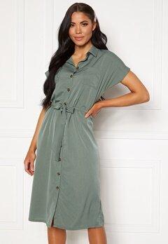 ONLY Hannover S/S Shirt Dress Laurel Wreath Bubbleroom.fi